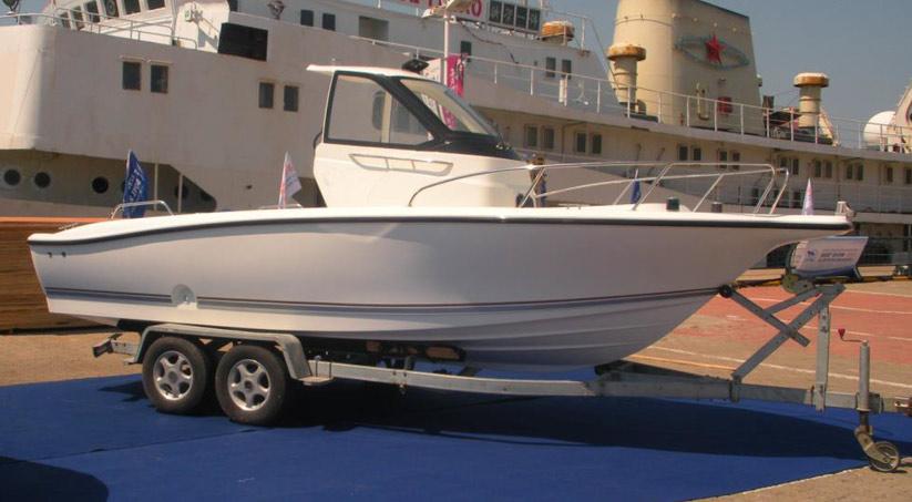 bestyear yfishing 21 motorboot mit kabine kaufen vom. Black Bedroom Furniture Sets. Home Design Ideas