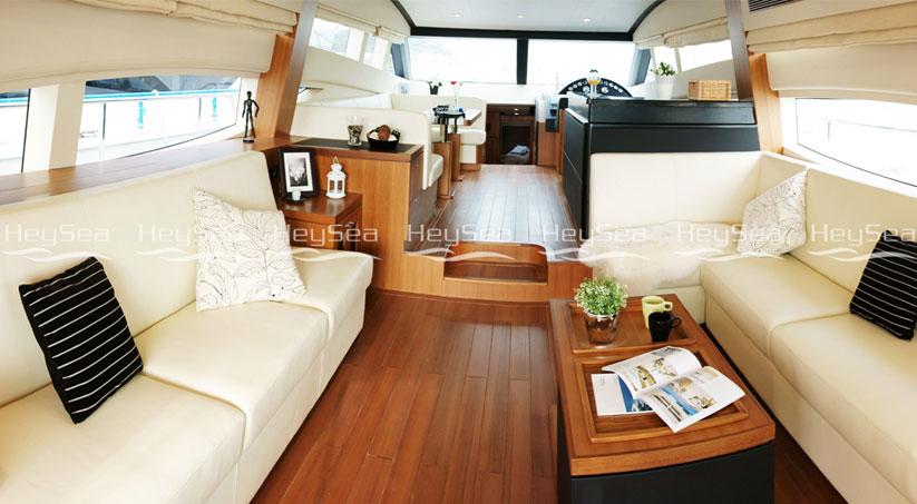 Luxusyachten innen  HeySea70 Yacht kaufen – Yachten mit Luxus zum günstigen Preis ...