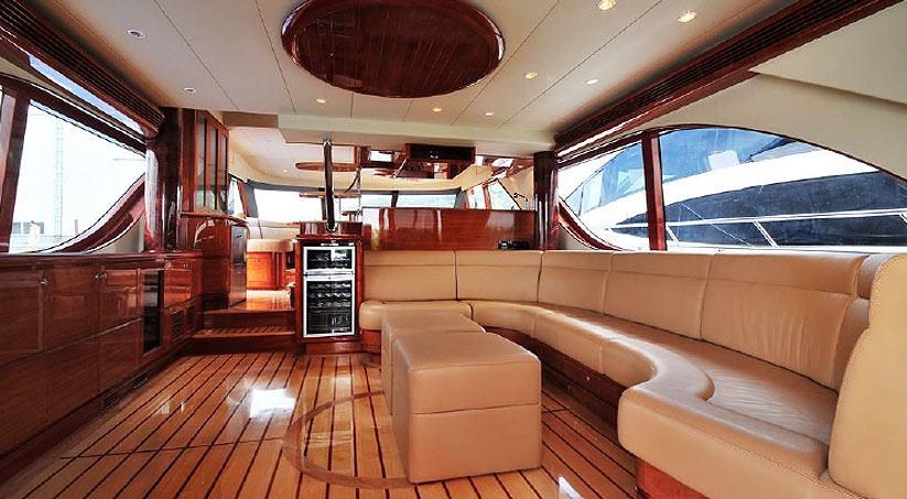 Luxusyachten innen  Bestyear Allmand 68 Motoryacht kaufen vom Hersteller / Werft ...