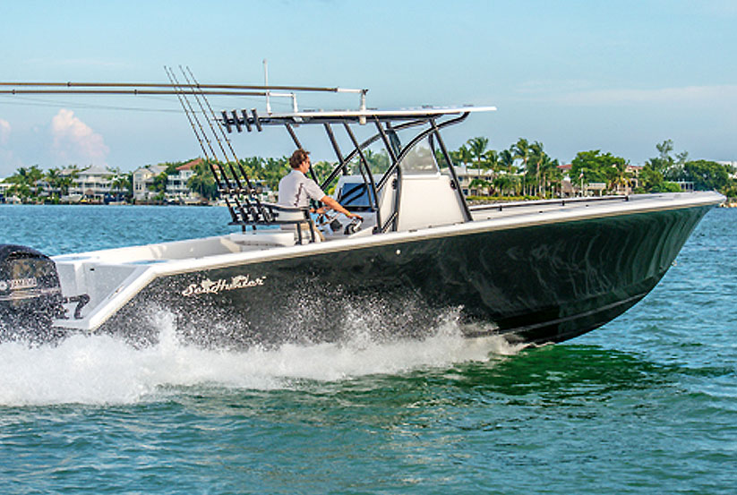 Sea Hunter Boats >> Seahunter Angelboot Tournament 32 kaufen vom Hersteller ...
