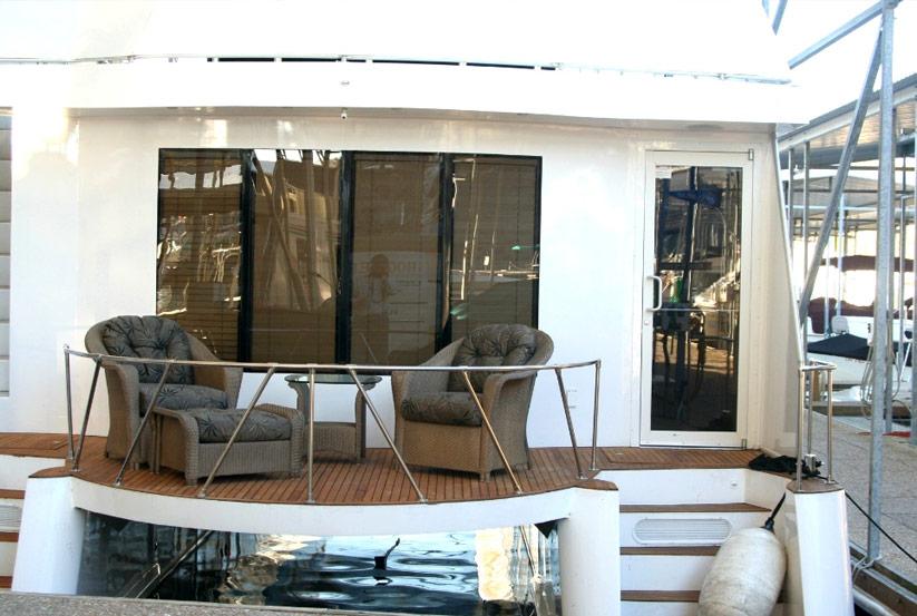 katamaran hausboot kaufen vom hersteller werft luxus hausboote usa amerika amerikanische. Black Bedroom Furniture Sets. Home Design Ideas
