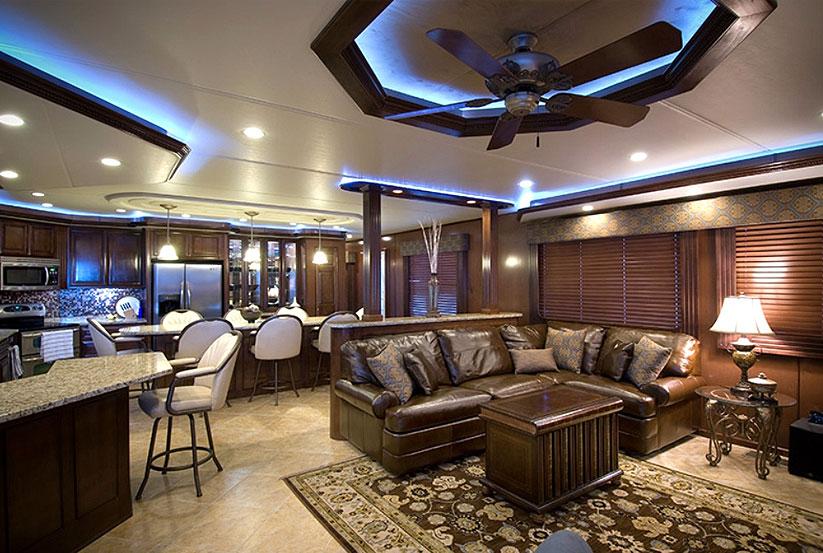 hausboot kaufen vom hersteller werft luxus hausboote usa amerika amerikanische stardust. Black Bedroom Furniture Sets. Home Design Ideas