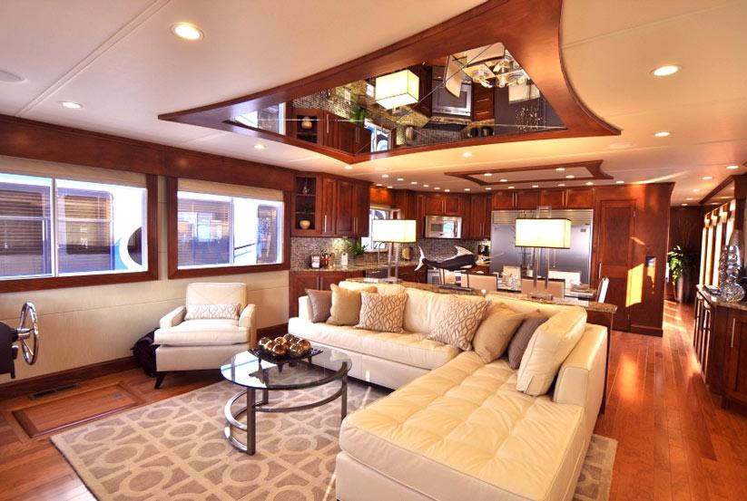 Hausboot kaufen vom hersteller werft luxus katamaran for Italienische einrichtung