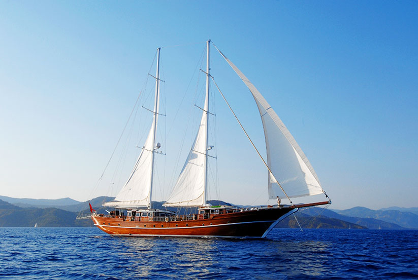 Luxus segelyacht holz  Gebrauchte Gulet Mare Nostrum Segelyacht kaufen, Gebraucht ...