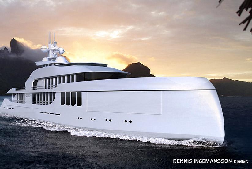 Superyachten innen  Sanlorenzo 52 Steel Superyacht bauen lassen und kaufen – 3D Design ...