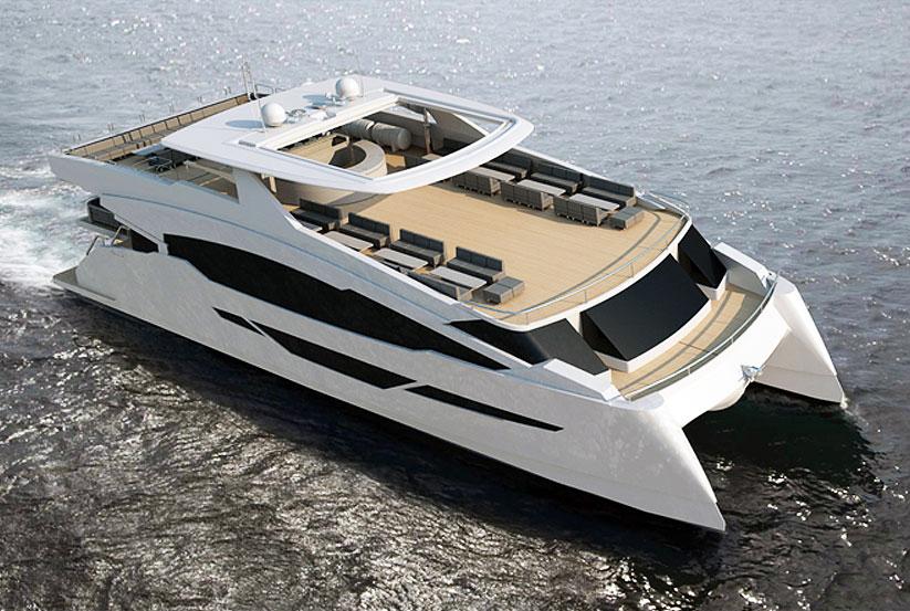 Katamaran kaufen  Spanischen Flash Cat 83 Katamaran kaufen vom Hersteller / Yachtwerft ...