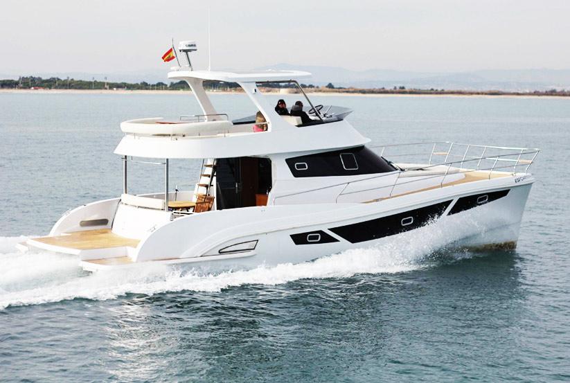 Katamaran kaufen  Flash Cat 47 Motorkatamaran kaufen vom Hersteller / Yachtwerft ...