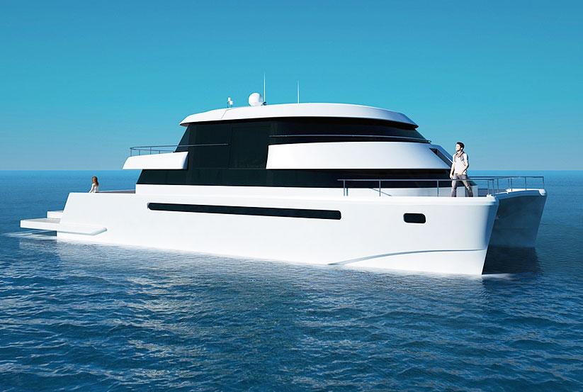 Luxus katamaran  Flash Cat 67SC luxus Katamaran kaufen vom Hersteller / Yachtwerft ...