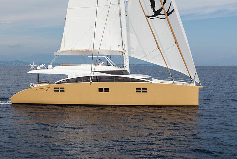 Luxus segel katamaran  Sunreef 82 Doppeldeck Luxuskatamaran kaufen – Doppeldeck ...