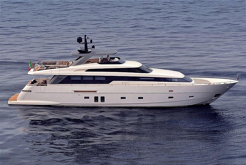 Luxusyachten preise  Sanlorenzo SL96 Luxusyacht kaufen vom Hersteller / Yachtwerft ...