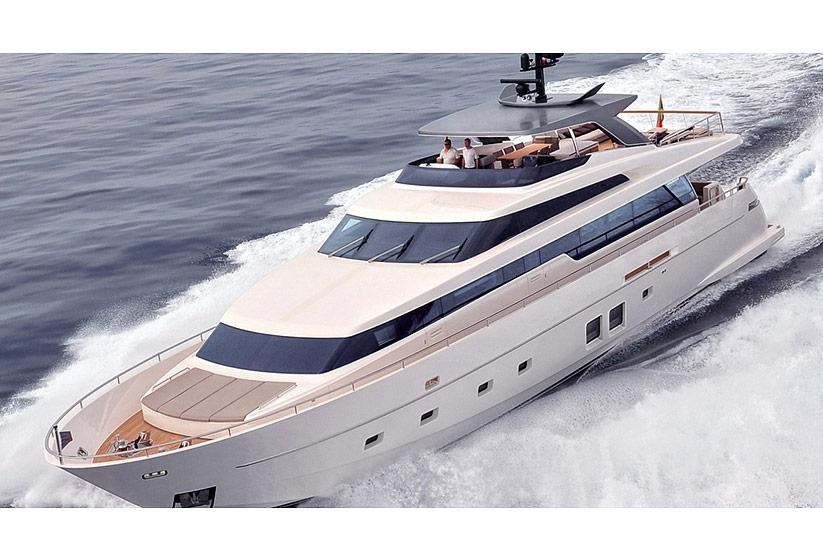 sanlorenzo sl96 luxusyacht kaufen vom hersteller yachtwerft italien italienische yacht. Black Bedroom Furniture Sets. Home Design Ideas