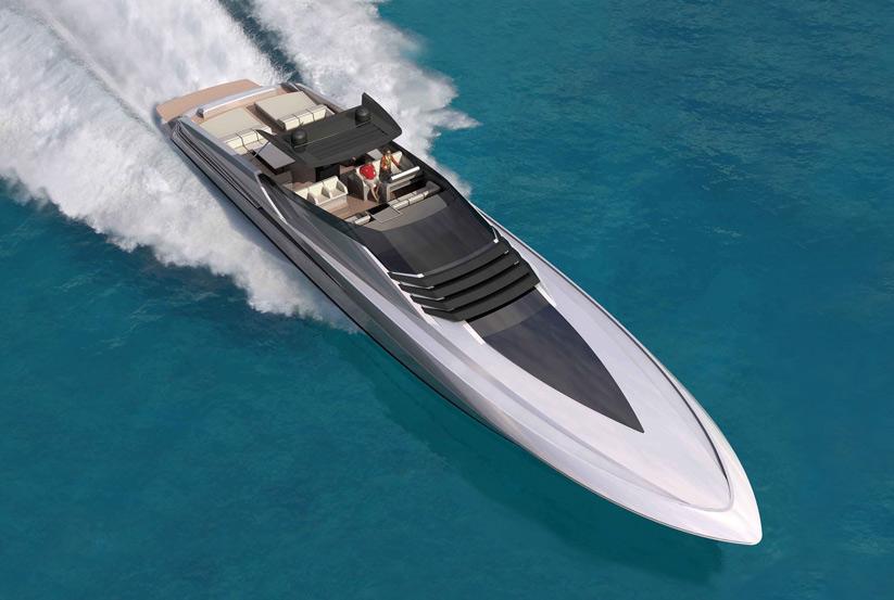 Offene Yacht / Motoryacht