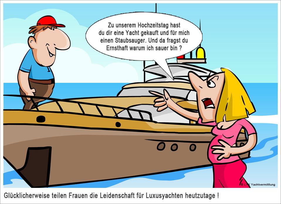 Lustiger Yachtwitz mit Funfaktor - Top Witze