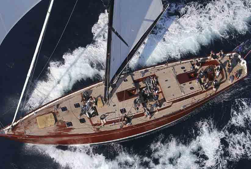 Luxus segelyacht holz  Gebrauchte Tempus Fugit Segelyacht kaufen – Gebraucht Luxusyachten ...