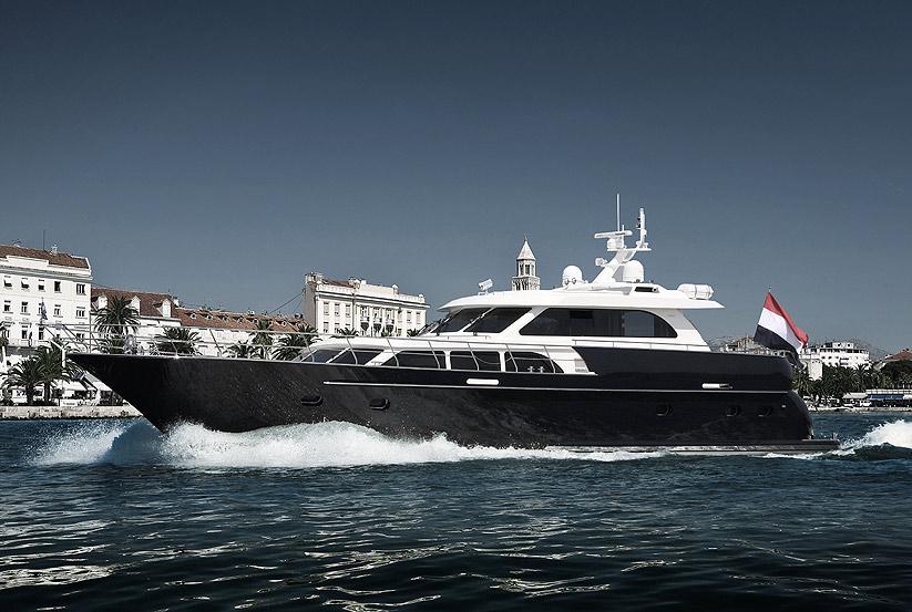 polymarine poly 56 katamaran yacht kaufen vom hersteller. Black Bedroom Furniture Sets. Home Design Ideas