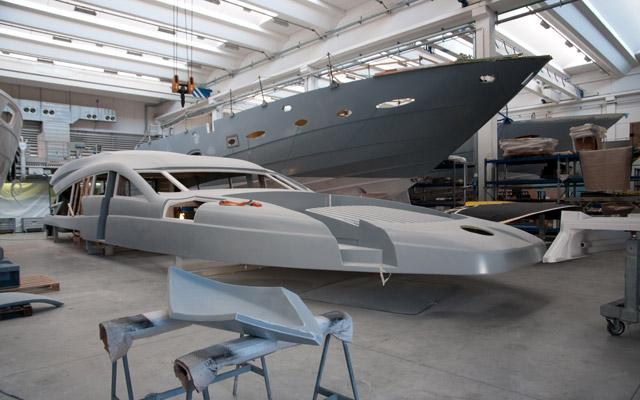 Neubau einer Yacht, bzw. Luxusyacht neu bauen