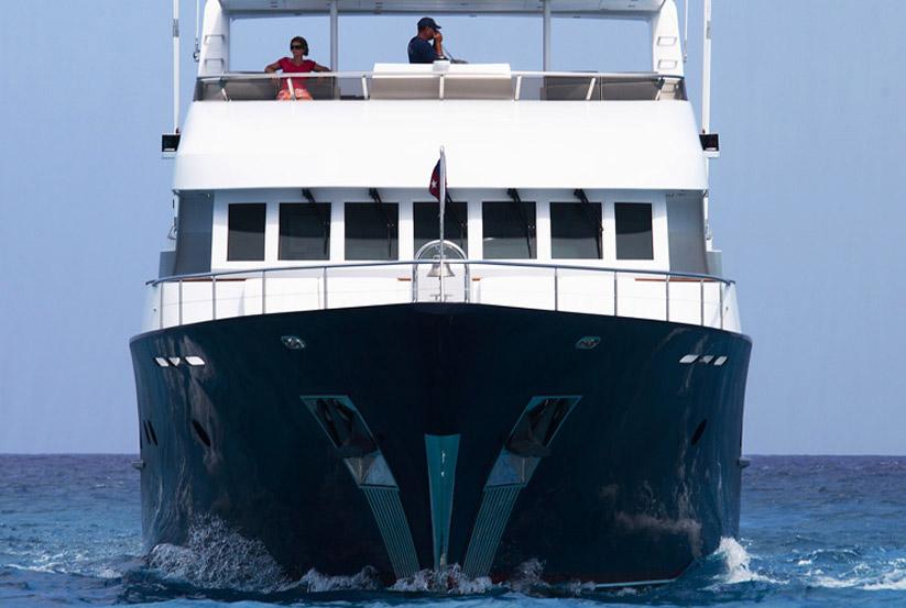 Trawler von vorne