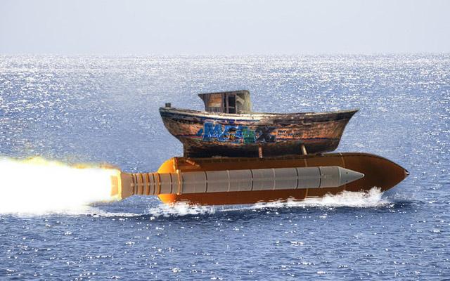 Witz zur schnellsten Yacht der Welt