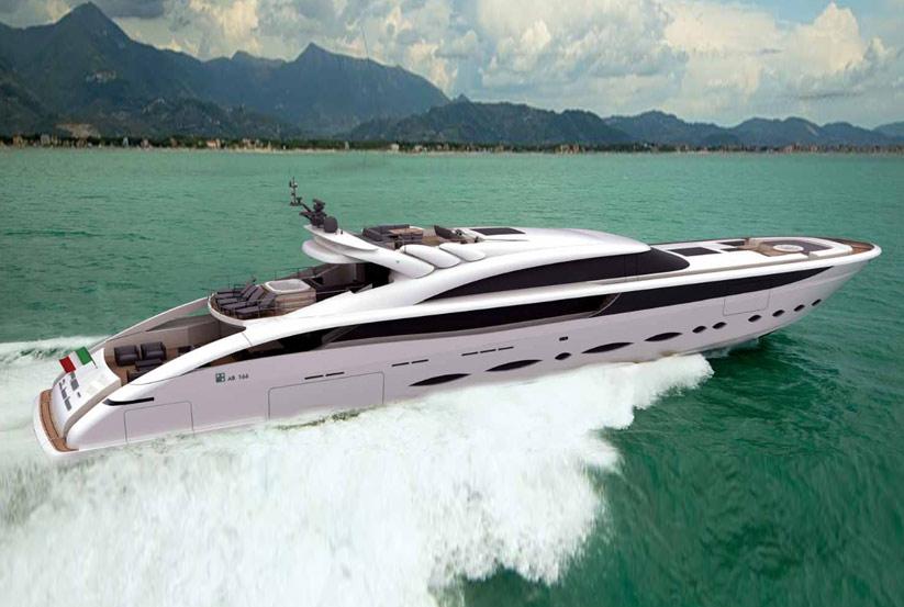 Superyachten  AB 166 Superyacht Entwurf, Konzept, 3D Design vom Hersteller / Werft ...